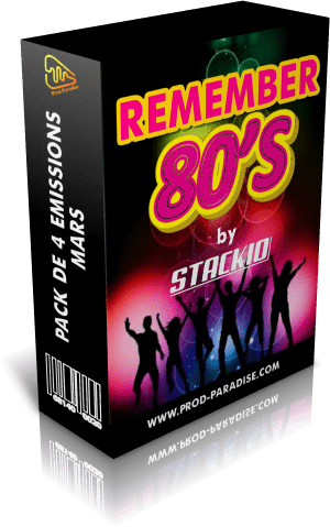 pack remember 80'S mars